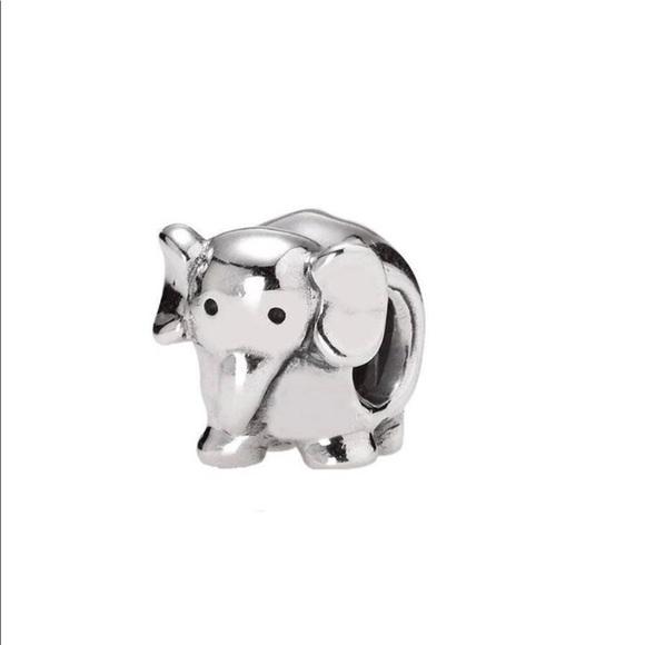 322967a8fee2e authentic PANDORA elephant charm